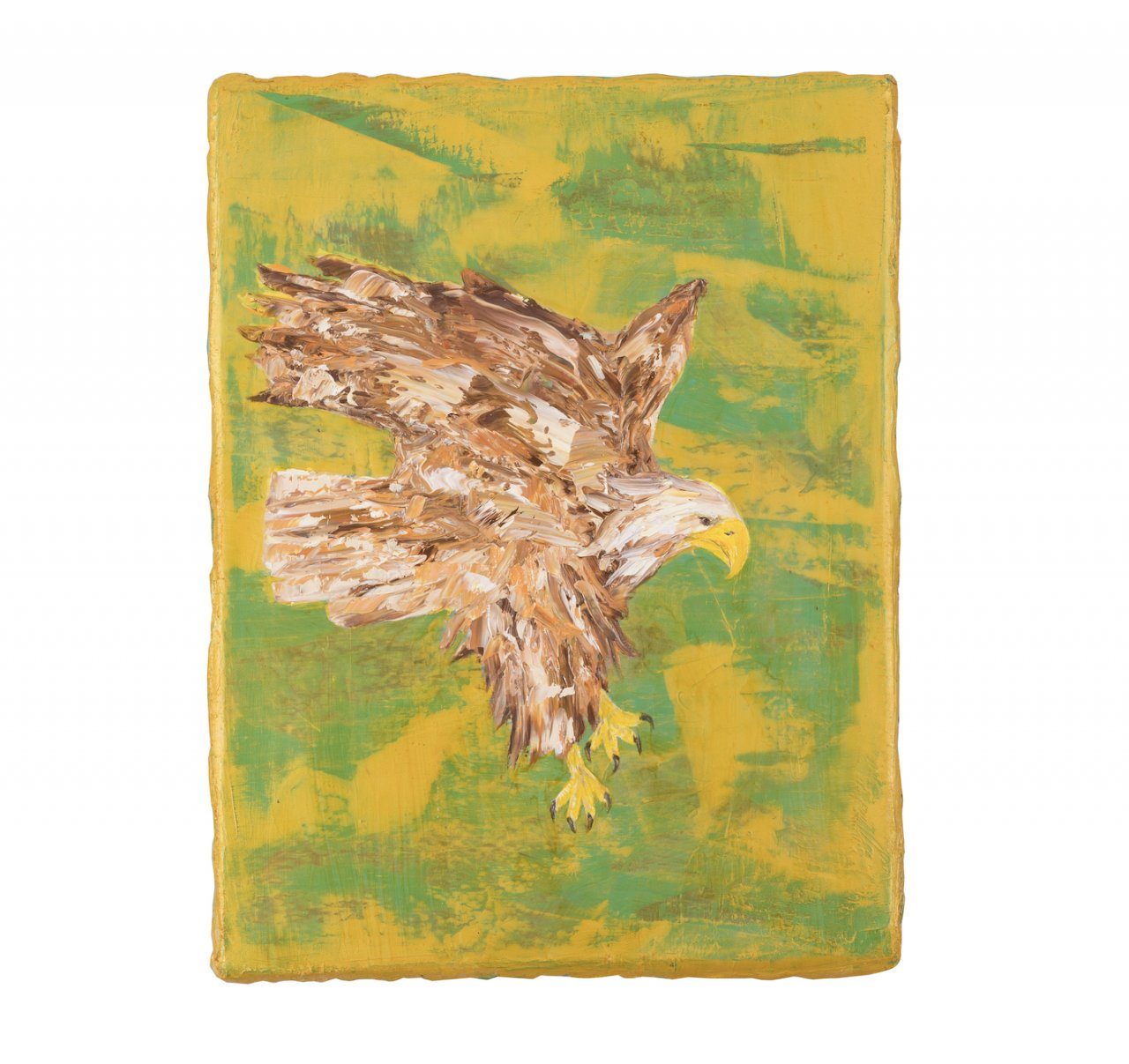 Eagle in the Gold Filed II, 2020 - Sultan Adler